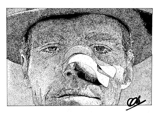 Jack Nicholson por Adzee